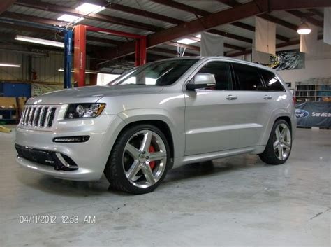 slammed jeep srt8 first 2012 srt8 jeep lowered 2 quot front 3 quot rear cherokee