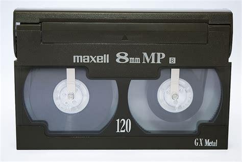cassette per videocamera 8 mm format
