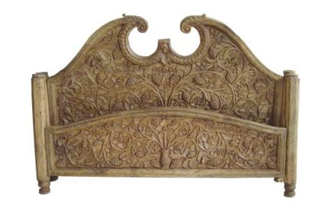 hand carved headboards rajasthan hand carved queen size headboard furniture decor