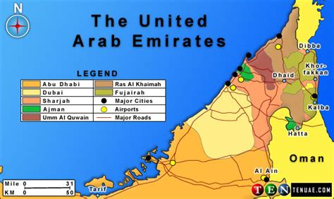 united arab emirates map united arab emirates map and united arab emirates