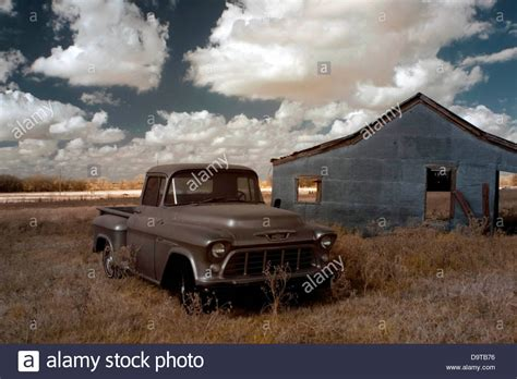 buy a house in texas usa old farm truck and abandoned house in a farm texas usa stock photo royalty free