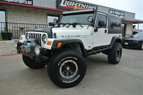 Jeep Suv For Sale Jeep Wrangler Unlimited Rubicon Suv For Sale 5 802 Used