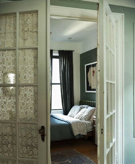 Apartment Bedroom Doors 15 Brilliant Door Window Treatments