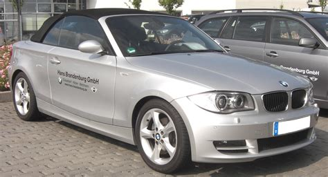 Bmw 1er Cabrio Wiki by File Bmw 1er Cabrio Front 1 Jpg Wikimedia Commons