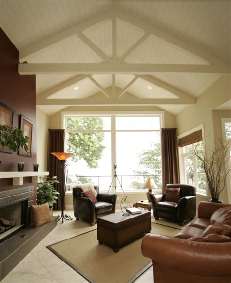 adding beams to ceiling vaulted ceilings studio design gallery best design