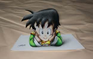 3d Artist by 3d Kid Gohan Colored Drawing By Inlinespeedskater On Deviantart