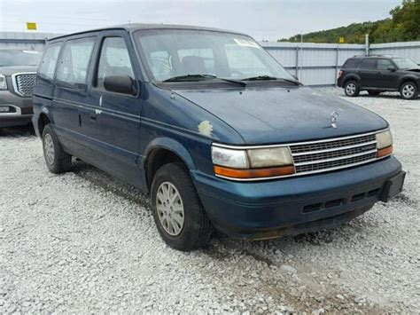 auto auction ended on vin 2p4gh4533sr342337 1995 plymouth voyager in ar fayetteville