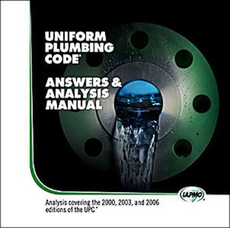 Indiana Plumbing Code Book state building code