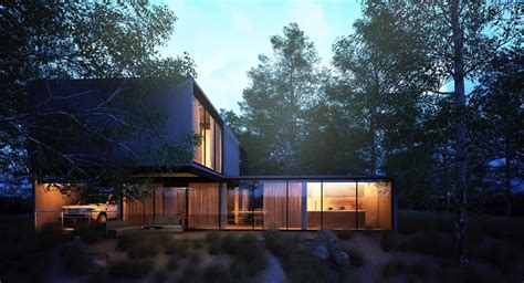 house forest ronen bekerman  architectural