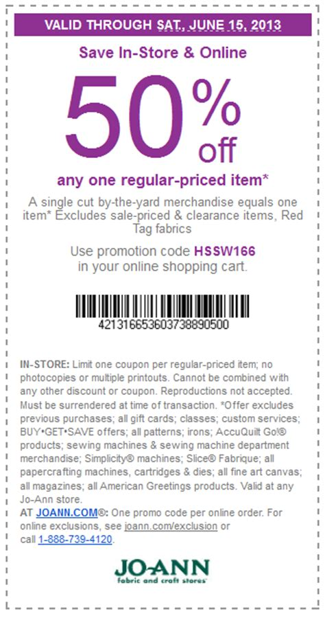 printable joann fabric coupons 2015 printable coupon joann fabrics 2017 2018 best cars reviews