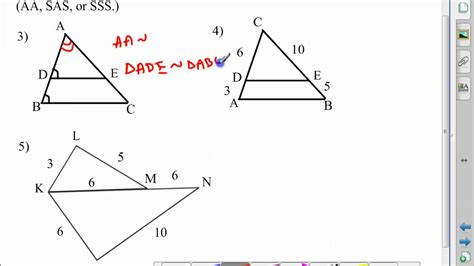 what is a section 7 geometry chapter 7 section 5 youtube