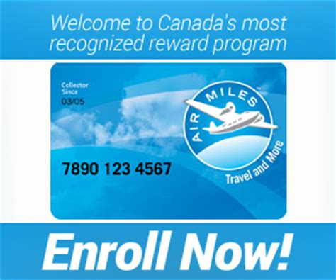 collect redeem air miles