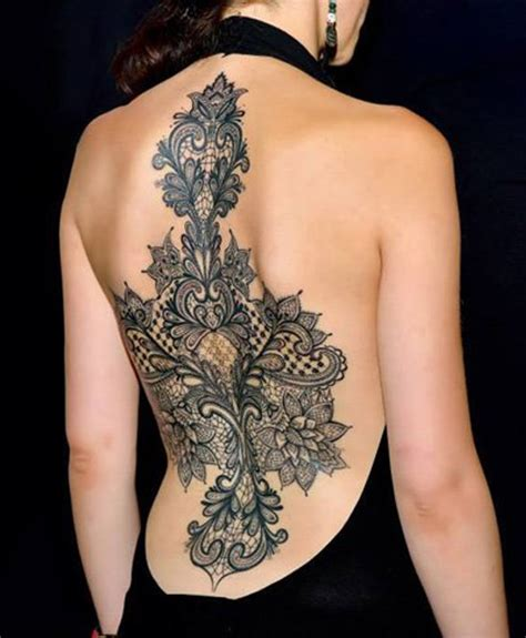 full body lace tattoo insanely beautiful full back lace tattoos for women