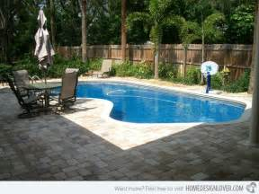 Small Backyard Pool Landscaping Ideas 15 Amazing Backyard Pool Ideas Home Design Lover