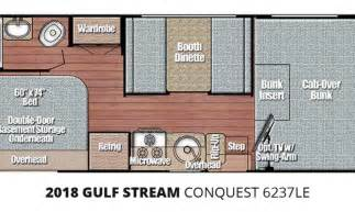 Diesel Cooktop 2018 Gulf Stream Conquest 6237le Class C Motorhome At The