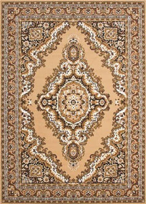 orietalische teppiche klassicher orient teppich muster beige wohn und