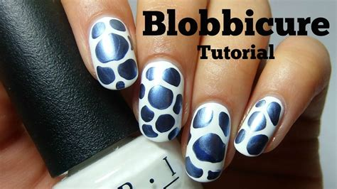 easy nail art no tools no nail art tools easy blobbicure nail tutorial nails