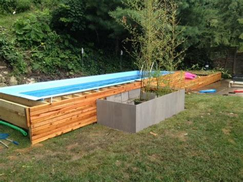 how to build a lap pool about us above ground lap pool