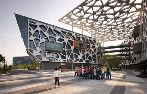 alibaba headquarters hassell designs alibaba headquarters as workplace benchmark