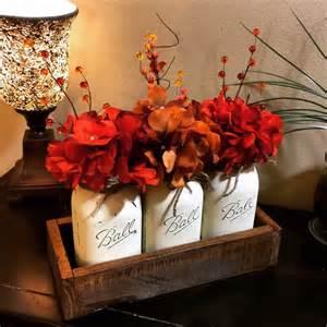 mason jar home decor 1000 ideas about mason jar arrangements on pinterest