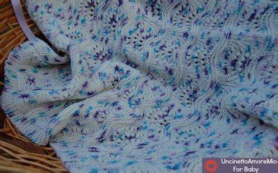 copertine per culla a maglia copertina culla a maglia in baby stata bambini