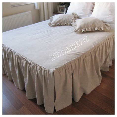 ruffled coverlet full queen bedspread dust ruffle 18 19 20 21 22 23 27 inch