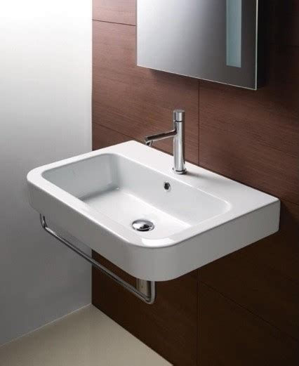 wall mounted rectangular sink curved rectangular wall mounted bathroom sink by gsi