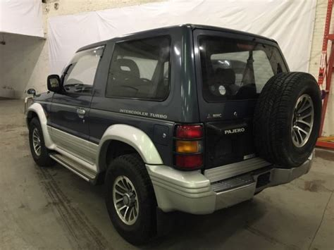 old car owners manuals 1992 mitsubishi montero transmission control japanese imports 1992 mitsubishi pajero montero 4wd turbo diesel at no reserve classic