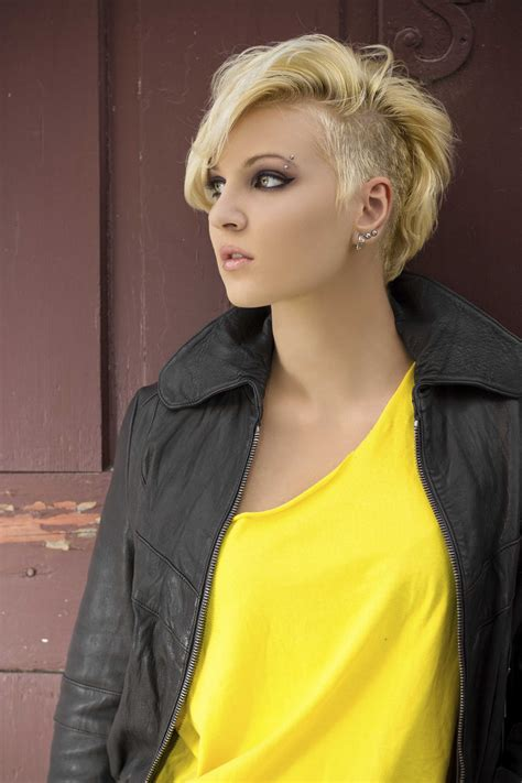 side shaved hair round face 80s hairstyles totally tubular trends we re still loving now