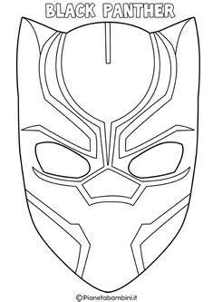 Máscaras de los Vengadores para Colorear.   Ideas y