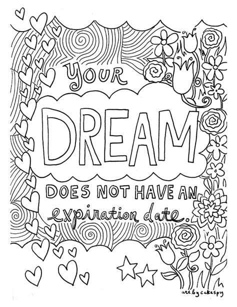 free printable inspirational coloring pages free coloring pages of inspirational sayings