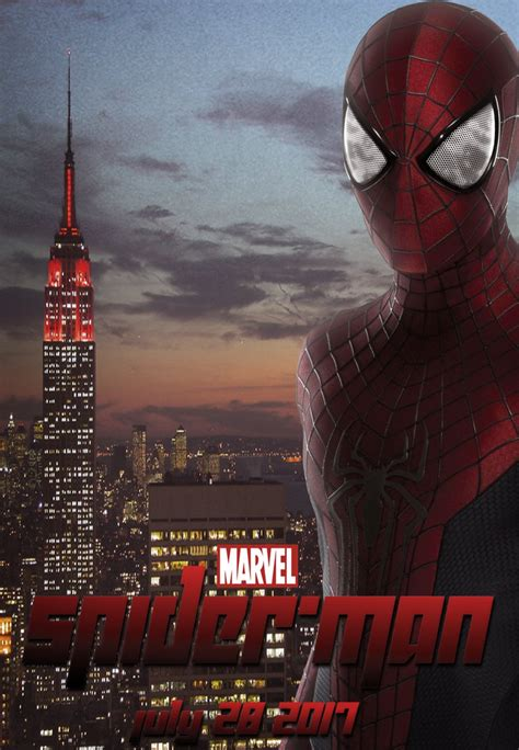 film recommended oktober 2017 spiderman 2017 movie fanmade poster by digiradiance on