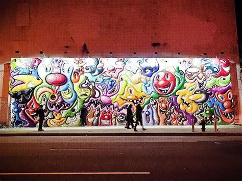What Is Wall Mural kenny scharf streetandstage com