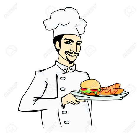 Chef Drawings Free