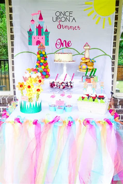 Birthday Ideas For Year Olds In Summer once upon a summer birthday ideas that ll wow your
