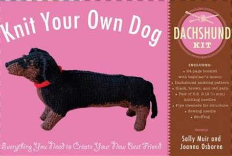 Sally Muir Knit Your Own knit your own dachshund kit