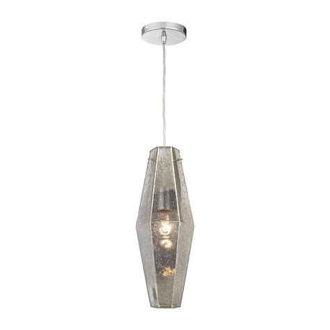 pelham 1 light polished chrome pendant tn 75160 the home