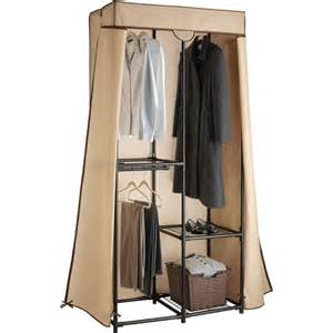whitmor covered clothes closet walmart