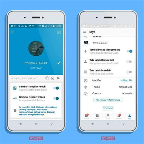 7 android apk bbm mod izoneto versi 3 3 8 74 android apk sellophone