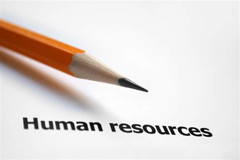Human Resources message from human resources employment lookout