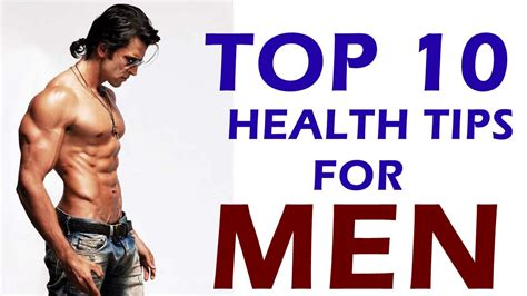 10 Tips For Boys by Must This Every Top 10 Health Tips For