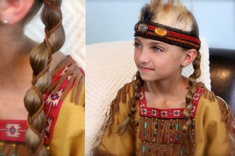 hairstyle for hopi indian girls leather accent loony braids cute braids cute girls