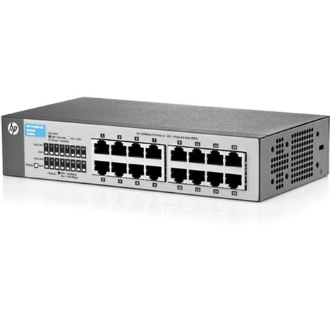 Switch Hub 8 Port Hp hp 1410 series 16 port fast ethernet switch j9662a aba b h photo