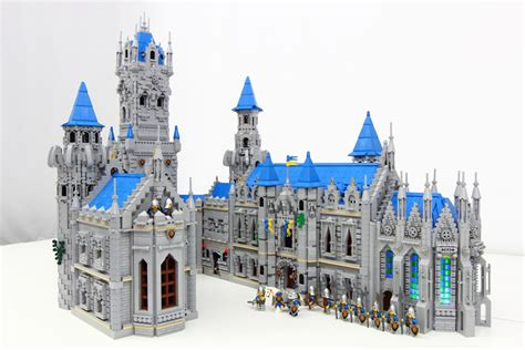 Famous Castle Floor Plans by The Blue Lion Castle An Epic Lego Moc