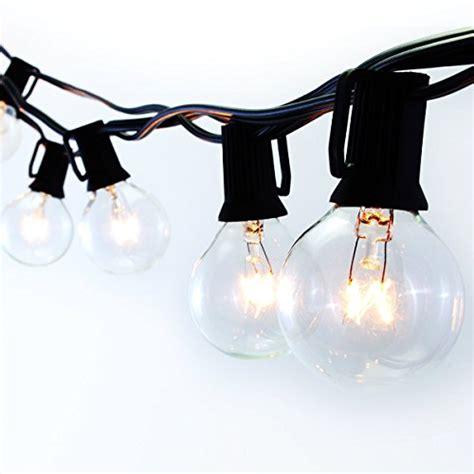 Rv String Lights Outdoor Patio Lights G40 Globe String Light Landscape Lights D