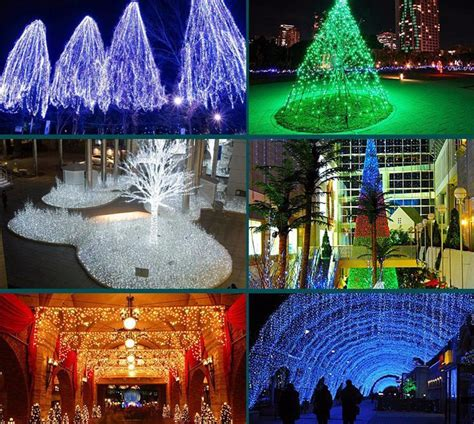 outdoor decoration 10m 20m 30m christmas led string lights