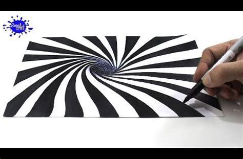 ilusiones opticas sencillas c 243 mo dibujar una ilusi 243 n 243 ptica 3d how to draw optical
