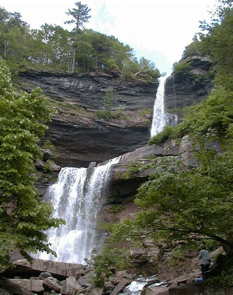 New York Falls In With The Cat by Kaaterskill Falls