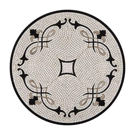 round mosaic pattern ideas lisette waterjet mosaic just design medallion arizona tile