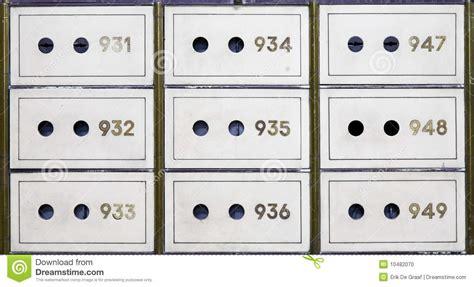Safety Box Bank Mandiri Antique Safe Deposit Boxes Stock Photo Image 10482070